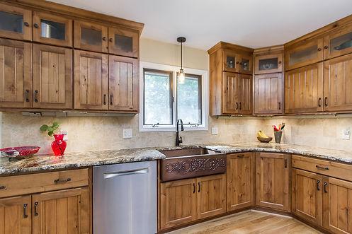 Rustic-Alder-Kitchen-Cabinets-Kitchen-Re