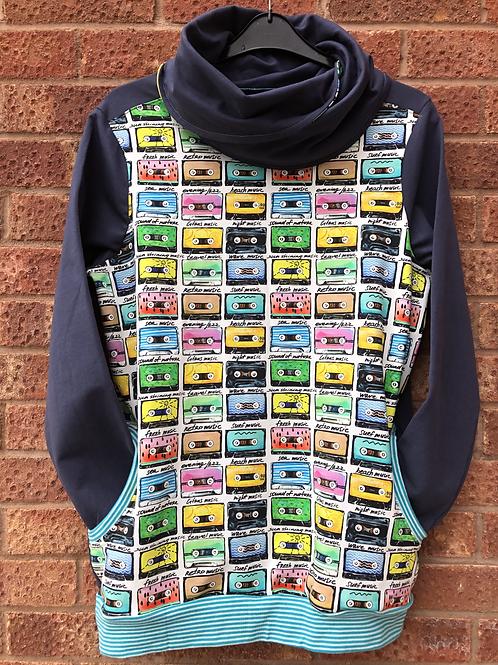Adult Cowl Neck Sweatshirt
