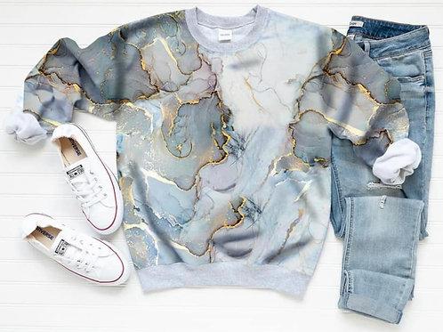 Raglan Sweatshirt - Marble FT