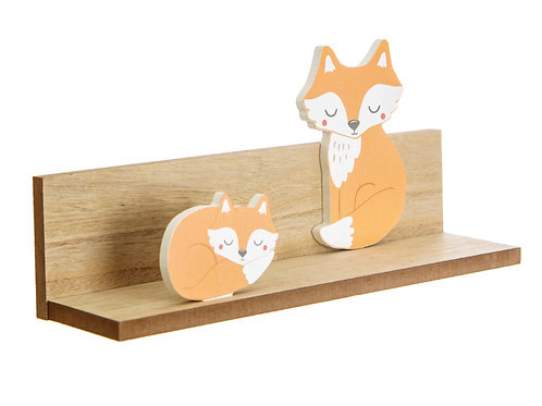 Woodland Fox Shelf