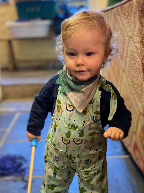 Baby Jersey Dungarees