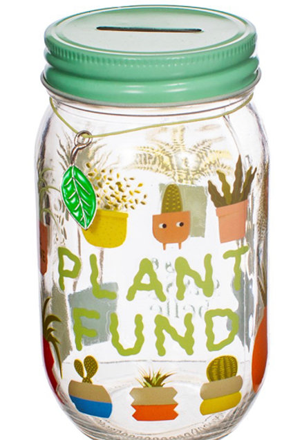 'Plant Fund' Saving Jar