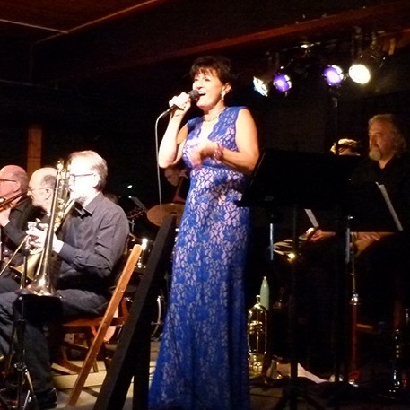Don Leppard Big Band and Edie Daponte
