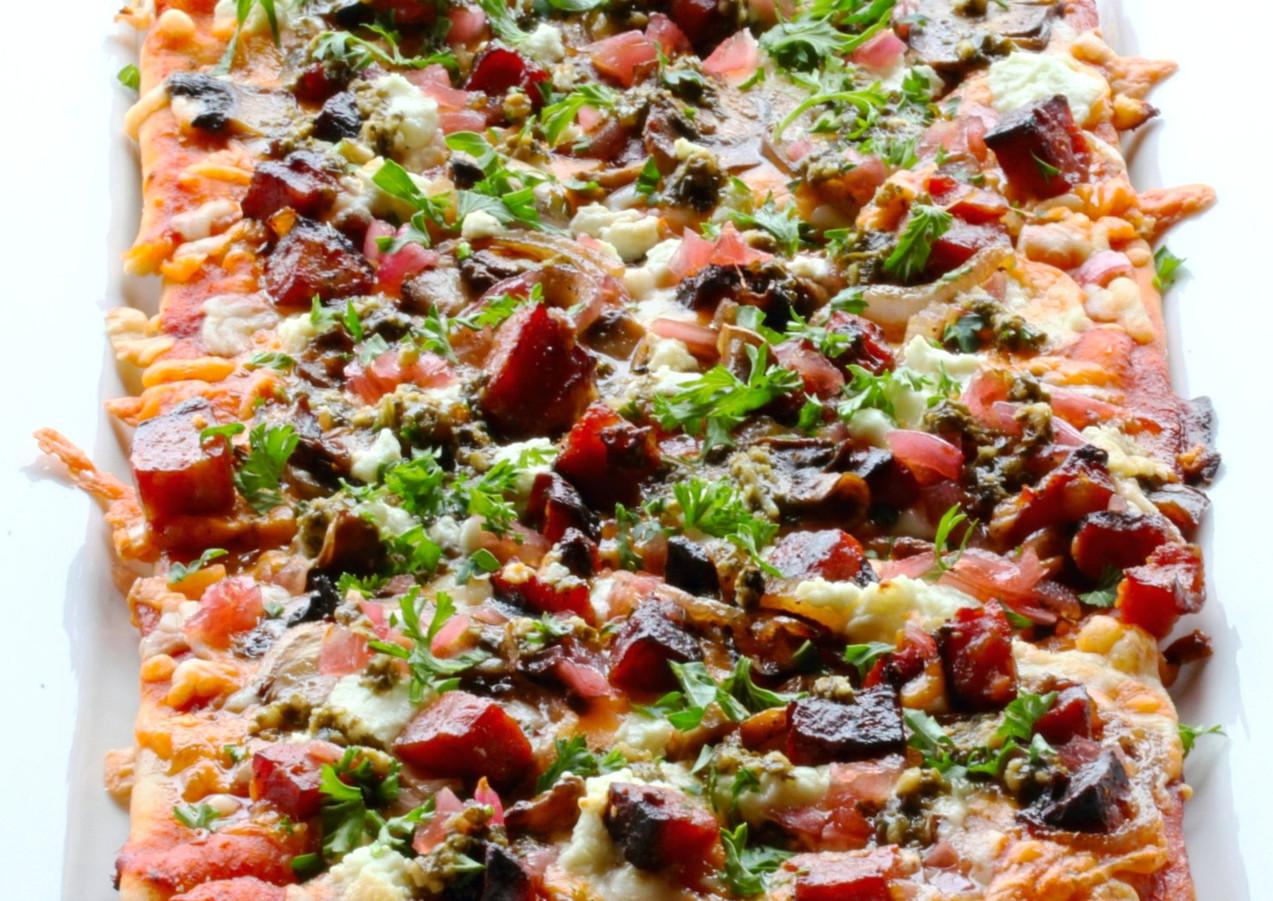 Roasted Chorizo Flatbread