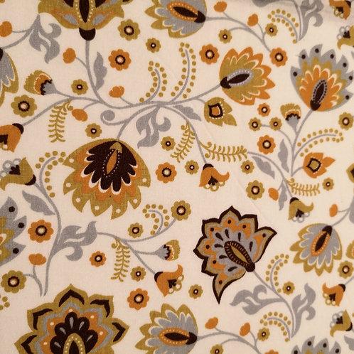 Blumenranken ocker