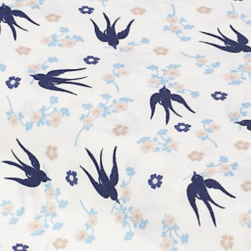 Vogel/Blumen