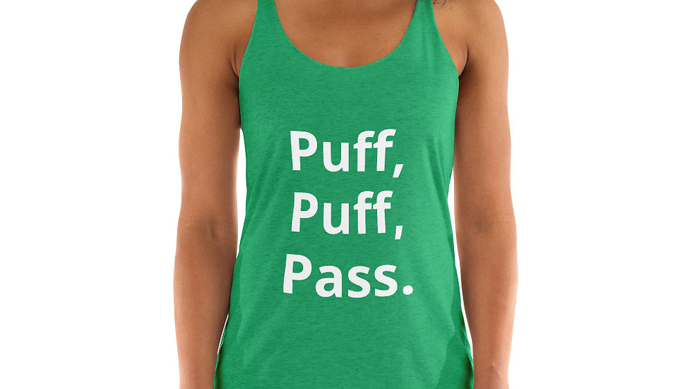 Puff Puff Pass Womens Tank