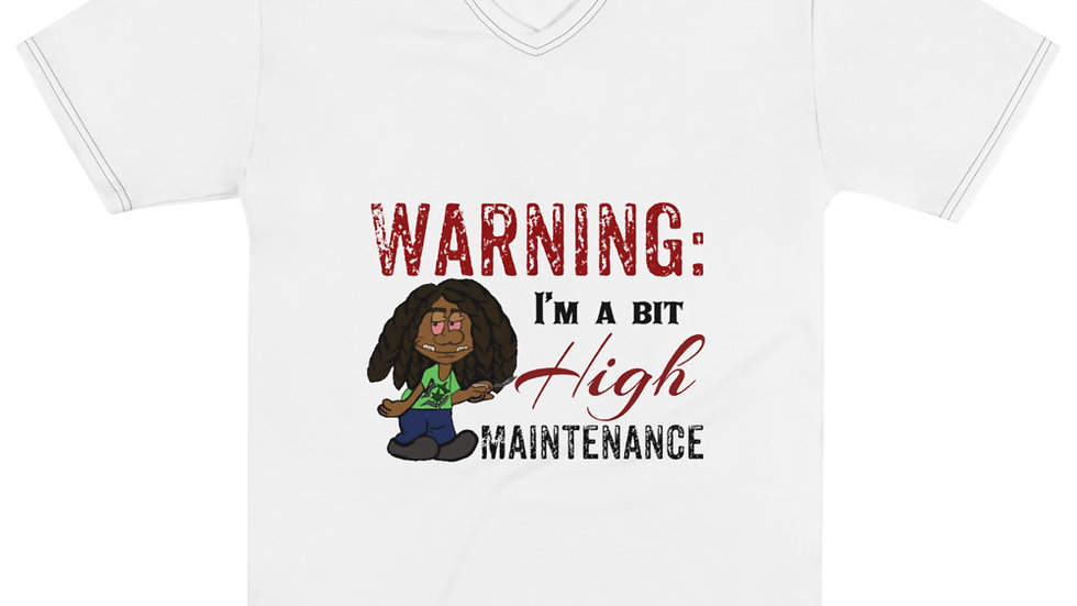 High Maintenance v neck