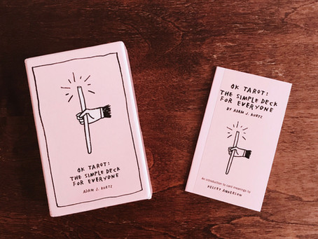 Tarot Tuesday: OK Tarot by Adam J. Kurtz