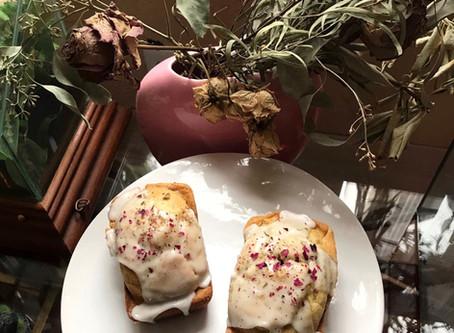 Kitchen Witch Wednesday: Rose Cardamom Cakes