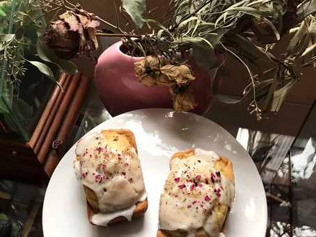 Kitchen Witch Wednesday: Rose Cardamom Cakes