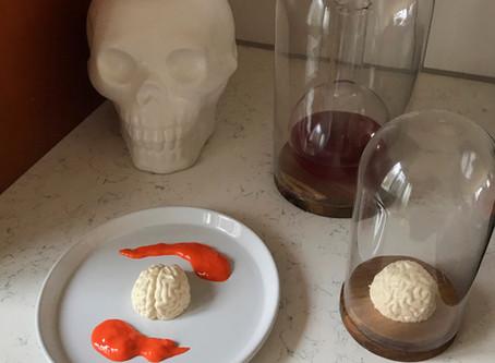 Sweet Spells Sunday: Blood Orange Brain Panna Cotta