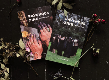 Sage Advice Saturday: Ravenous Zine Vol. 2