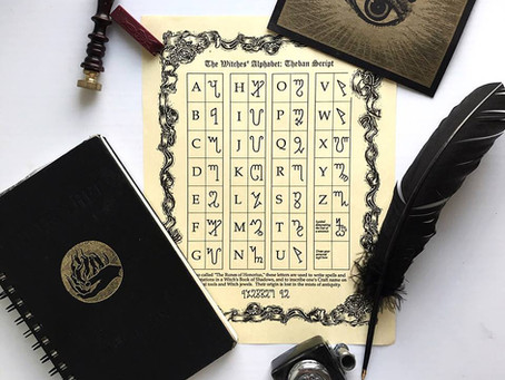Sage Advice Saturday: Theban Alphabet