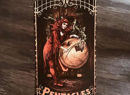 Tarot Tuesday: VIII of Pentacles