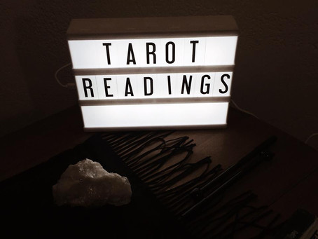 Inside the Witch's World: Tarot Bookings!