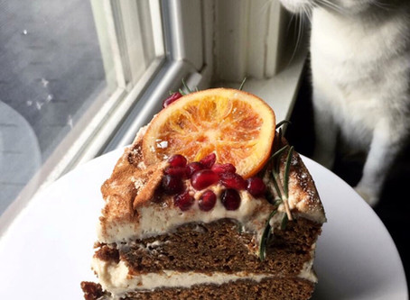Sweet Spells Sunday: Gingerbread Cake with Brown Sugar Bourbon Frosting
