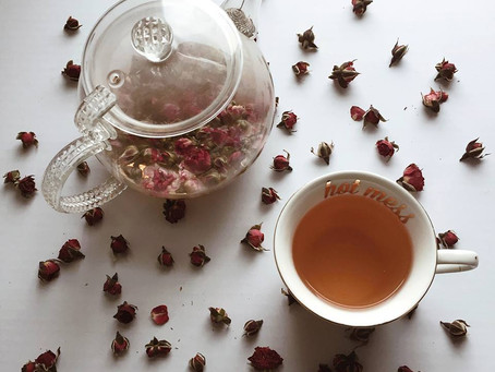 Tea Leaves Thursday: Sundried Wild Rose Buds