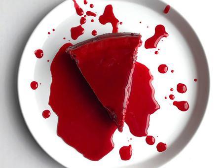 Sweet Spells Sunday: Red Velvet Hibiscus Cheesecake