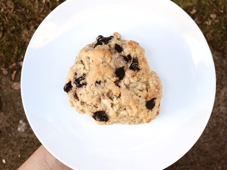 Kitchen Witch Wednesday: Rosemary Blueberry Scones