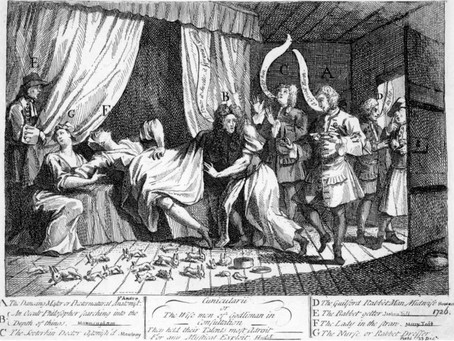 Folklore Friday: Mary Toft, The Mother of Rabbits
