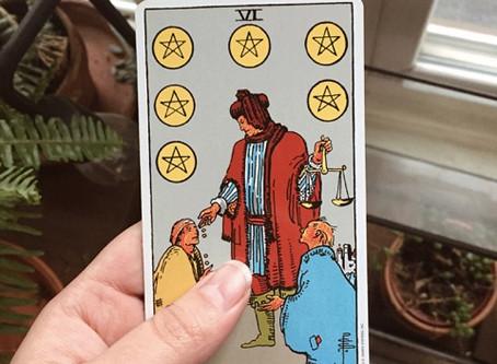Tarot Tuesday: VI of Pentacles