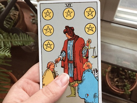 Tarot Tuesday: VI of Pentacles