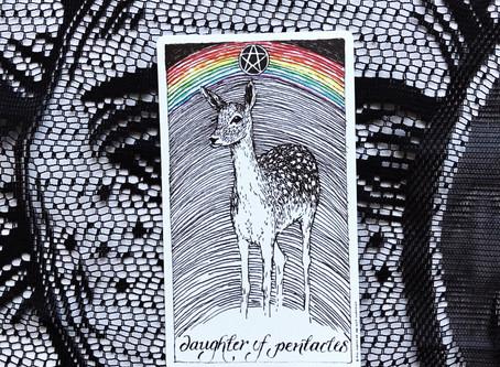 Tarot Tuesday: Daughter of Pentacles