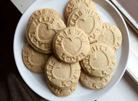 Kitchen Witch Wednesday: Rosemary Ginger Sugar Cookies