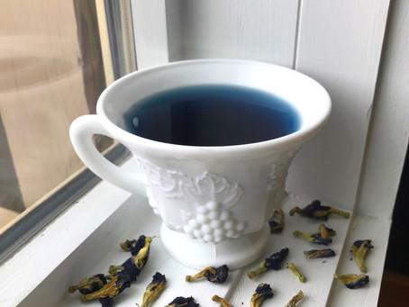 Tea Leaves Thursday: Butterfly Pea Flower Tea