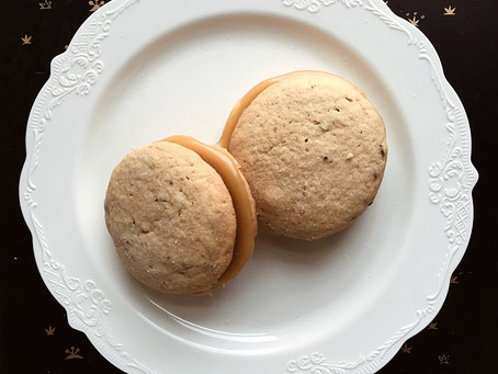 Kitchen Witch Wednesday: Gluten-Free Lavender Lemon Curd Sandwich Cookies