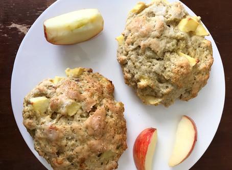 Kitchen Witch Wednesday: Apple / Sage / Walnut Scones