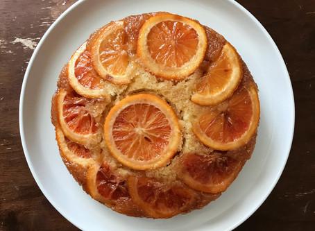 Sweet Spells Sunday: Blood Orange Upside Down Cake