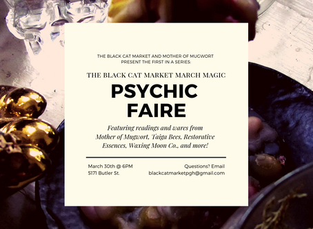 Sage Advice Saturday: March Magic Psychic Faire