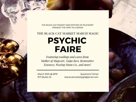 Sage Advice Saturday: March Magic Psychic Faire