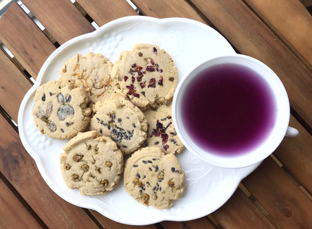 Kitchen Witch Wednesday: Pressed Floral Sugar Cookies