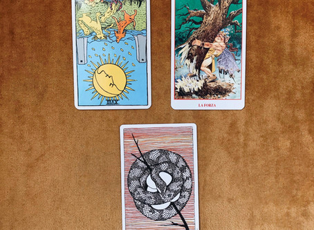 Tarot Tuesday: Lunar Eclipse Reading