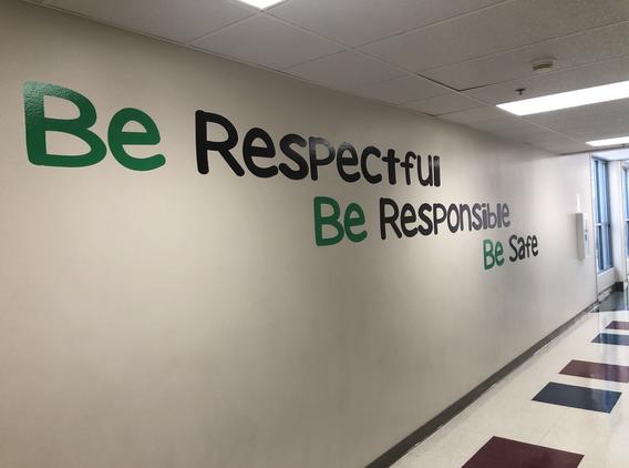 Be Respectful, Responsible, & Safe