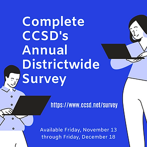 Complete CCSD's Annual Districtwide Surv