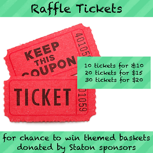 Raffle Tickets: A La Carte and/or Add On