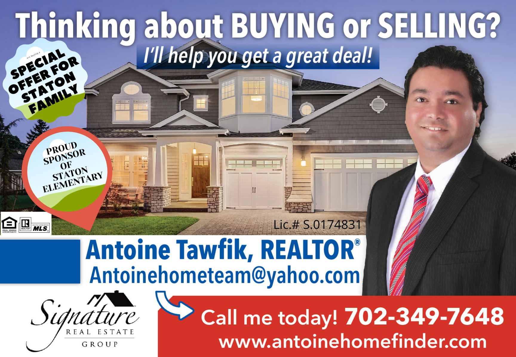 Antoine Tawfik - Signature Real Estate Group