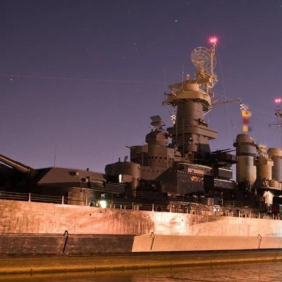 Battleship North Carolina Ghost Hunt USA