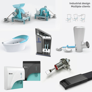 Industrial (Product design) projects