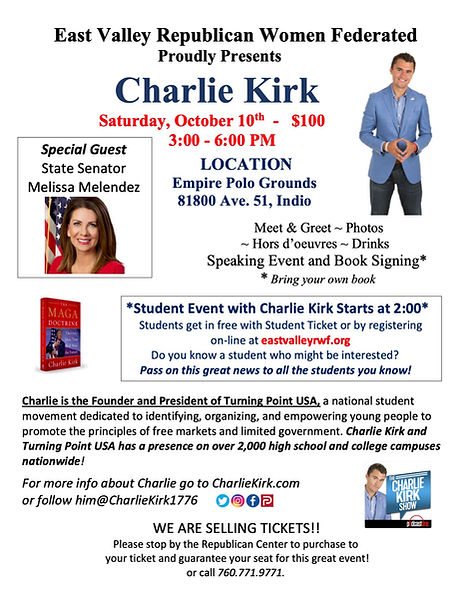 Charlie Kirk Event Flier wMelissa PDF[1]