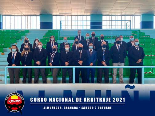 CURSO NACIONAL DE ARBITRAJE 2021