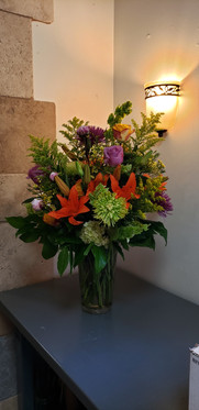 Lovely fall arrangment