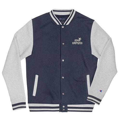Jokr Embroidered Champion Bomber Jacket