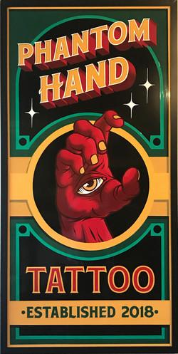 Phantom Hand Tattoo