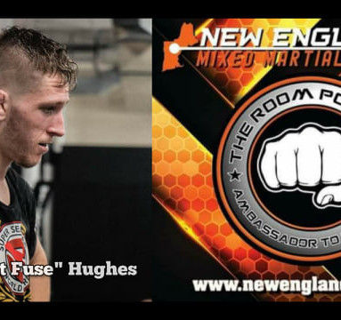 """The Room Podcast: Aaron """"Short Fuse"""" Hughes talks CES MMA debut at CES 65"""