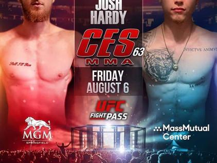 CES 63 Breakdown: Tom Pagliarulo vs Josh Hardy